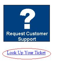 Help Desk Ticket Lookup Link